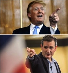 Trump and Cruz